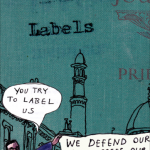 Promise poster Muslims labels